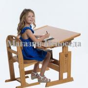 "Beech school desk ""Umnichka"""