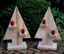 Декор НовоГодний Різдвяний в Сад Парк Сквер Дачу Будинок Офіс
