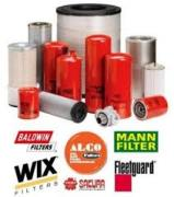Filters and filter elements for trucks, special machinery