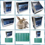 Годівниці для кролів: збери свій комплект