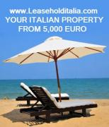 Leasehold seside property real estate in Italy
