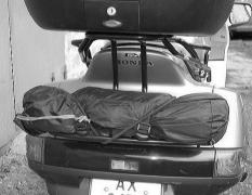 Luggage systems, roll bars, side frames