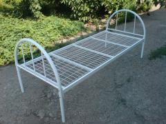 Металлические кровати недорого, односпальная кровать