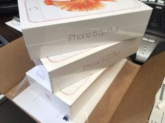 New iPhone 4G phone 6s Plus 128GB gold