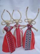 Новогодняя Коза - символ веселья и достатка..Оберег. Подарок