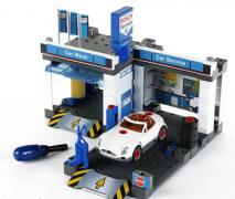 Продам детский набор - станция техобслуживания с автомойкой