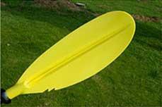 Разборное двухсекционное весло для байдарок и каяков