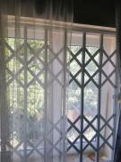 Rose metal grilles on doors, windows, windows Cherkasy