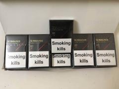 Sell cigarettes SOBRANIE