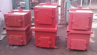 Selling drawings of pyrolysis boilers from 15 to 100 kW