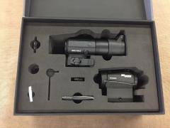 SIG SAUER ROMEO5 RED DOT SIGHT WITH JULIET3 3X MAGNIFIER COMBO