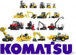 Spare parts for road-building machinery Komatsu