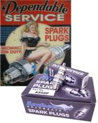 Spark plug for chainsaws and trimmers, ARCHER