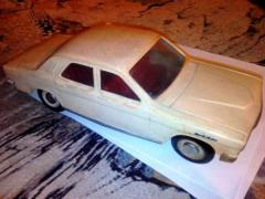 "Toys of the 1970s: ""Volga"" GAZ-24 and the truck ""Ural"""