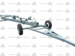 Truck transport reinforced VTZH one and two-axle, buy, price