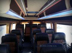 Tuning Internal Re-equipment of minibuses buses, salon into a minibus auto