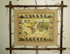 VIP gift - Geographical maps custom