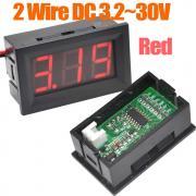 Voltmeter digital DC the 3.2-30v