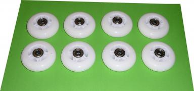 Wheels for polyurethane rollers 8 PCs, with ball bearings (ABEC7)