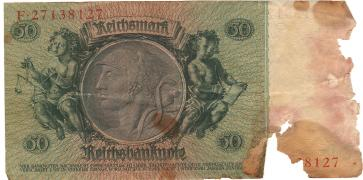 Will sell 50 REICHSMARK 1933, Kharkov