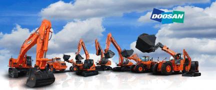 Запасные части к дорожно-строительной технике Doosan